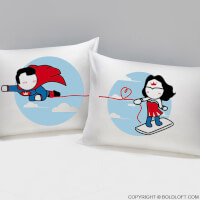 Made For Loving You™ His & Hers Pillowcases