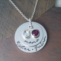 NANA NECKLACE WITH BIRTHSTONES