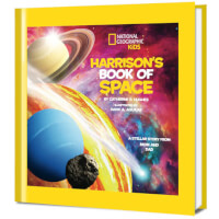 National Geographic Little Kids Book Of Space..