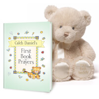 My First Book Of Prayers Personalized Book Gift..