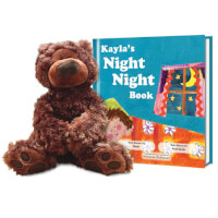The Night Night Personalized Book And Teddy Bear..