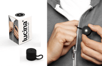 Lucina - Magnetic Wearable Light Black