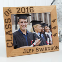Personalized Wooden Graduation Photo Frame -..