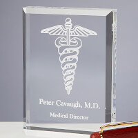 Personalized Medial Specialty Paperweight