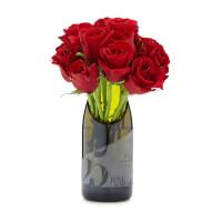 Personalized Champagne Milestone Vase