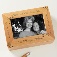 To My Mother Photo Keepsake Box For Women