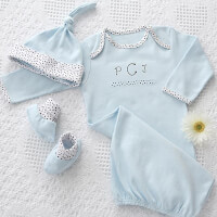 Personalized Baby Clothes Gift Set - Newborn Boy