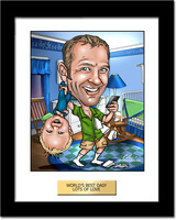Fathers Day Gifts - Custom Caricature From Photo