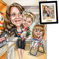Capture Mom In A One-Of-A-Kind Caricature