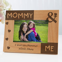 Personalized Picture Frames - Mommy & Me 4x6