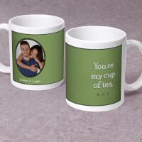 Cup Of Tea Photo - Personalized 11 Oz. Premium Mug