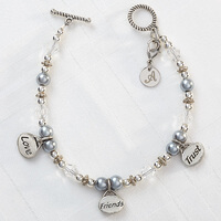 Personalized Charm Bracelets - Love, Friends,..