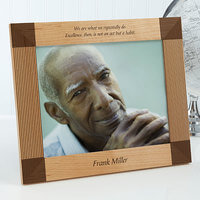 Engraved Picture Frames - Inspiring Quotes - 8x10