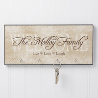 Personalized Key Racks - Welcome