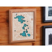 Lake Art: Single Layer Wall Art - 8 X 10