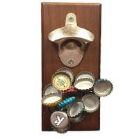Wall Mounted Magnetic Bottle Opener
