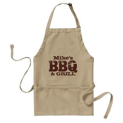Personalized Name BBQ Apron For..