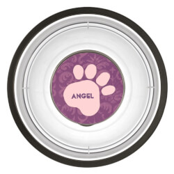 DIY Create Your Own Pink Paw Print..