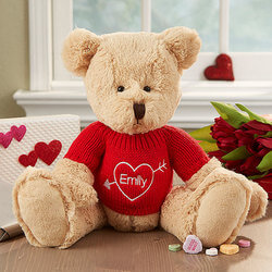 Personalized Valentines Day Teddy..