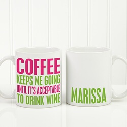 Personalized Funny Coffee Mug -..