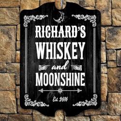 Whiskey & Moonshine Personalized..