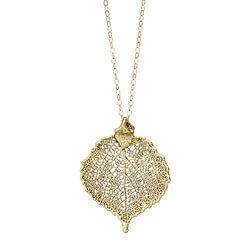 Antique Gold Aspen Necklace