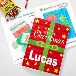 Personalized Christmas Coloring..