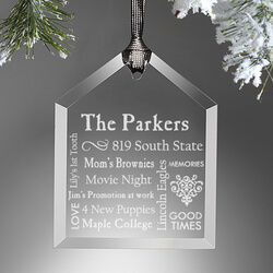 Personalized Christmas Ornaments -..