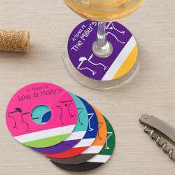 Personalized Wine Glass Tags