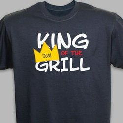Personalized King Of The Grill..
