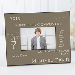 Personalized First Communion Photo..
