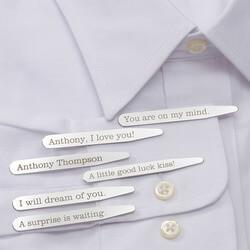 Personalized Dress Shirt Collar..