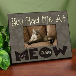 Personalized Had Me At Meow..