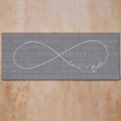 Personalized Infinity Symbol Wall..