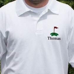 Personalized Embroidered Golf Polo..