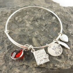 Personalized Teacher Bracelet