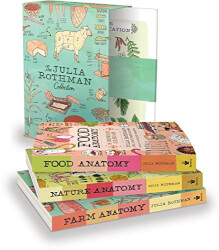The Julia Rothman Book Collection: Farm Anatomy, Nature Anatomy, and Food Anatomy