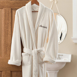 Personalized Fleece Bathrobes -..