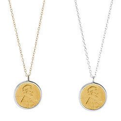 Penny Necklace With Personalized..