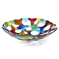 Multi-Color Erosion Bowl