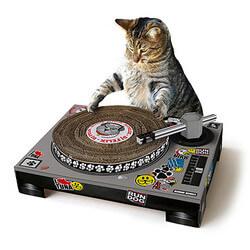 DJ Cat Scratching Pad