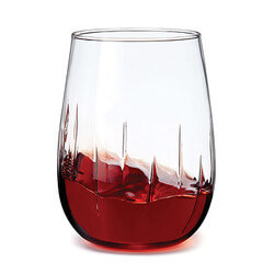 Stemless Aerating Wine Glasses -..