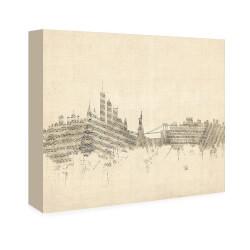 Musical Skyline Art - Small