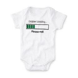 Diaper Loading Babysuit