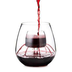 Stemless Fountain Aerating Wine..