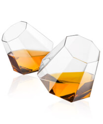 Diamond Glasses (Set Of 2)