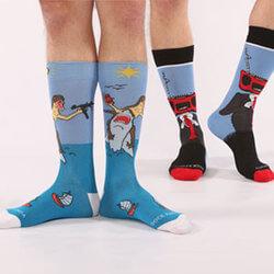 Guys Daring And Bold Socks..