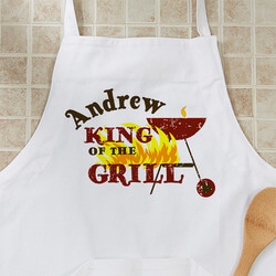Personalized BBQ Grill Aprons -..
