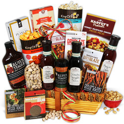 Grilling Greatness - BBQ Gift Basket