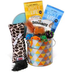 Cat Lovers Gift Basket